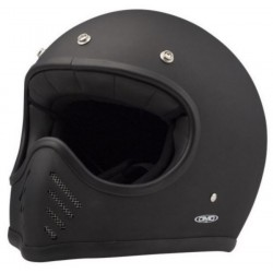 CASCO INTEGRAL DMD SEVENTY FIVE NEGRO MATE