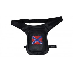 BAG LEG REBEL FLAG BLACK