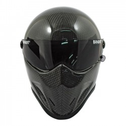 SPACIOBIKER CASCO INTEGRAL BANDIT CRYSTAL CARBONO