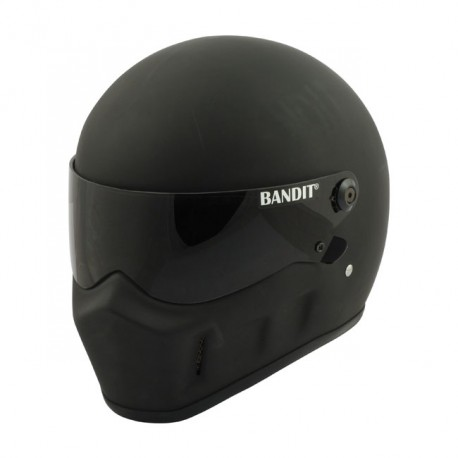 SPACIOBIKER CASCO INTEGRAL BANDIT SUPER STREET II NEGRO MATE