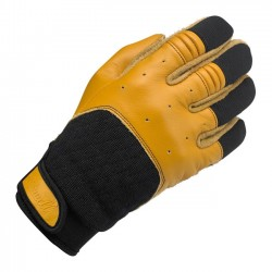 BILTWELL BANTAM GLOVES TAN BLACK
