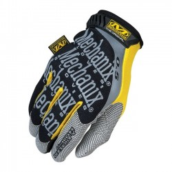 GUANTES DE TRABAJO MECHANIX ORIGINAL 0.5MM NEGRO/AMARILLO