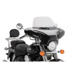 EH WINDSHIELD BLACK SHINE FIBER HONDA SHADOW VT 750 C (RC50 / 10) 10-16