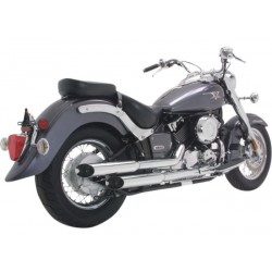 ESCAPE YAMAHA XVS650 DRAG STAR VANCE & HINES CRUZERS '04-UP