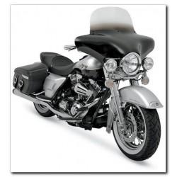 MEMPHIS FIBRE WINDSHIELD BLACK HONDA VT750 SPIRIT, PHANTOM 10 to 13