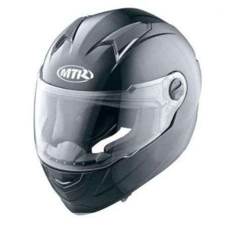 CASCO INTEGRAL MTR S-5 NEGRO BRILLO