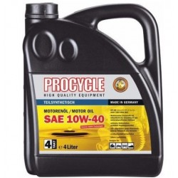 PROCYCLE ENGINE 10W-40 SEMI SYNTHETIC 4 L