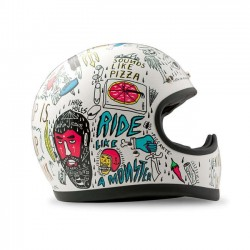 DMD RACER TRIBAL FULL FACE HELMET