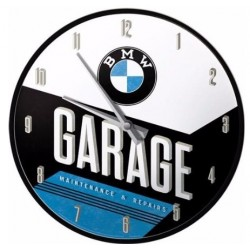 WALLCLOCK BMW GARAGE