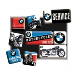 SET DE 9 IMANES BMW MOTORCYCLES