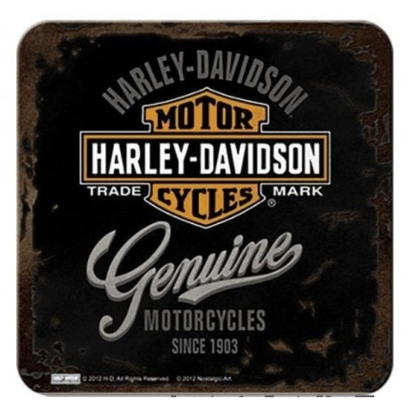 HARLEY DAVIDSON COASTERS GENUINE