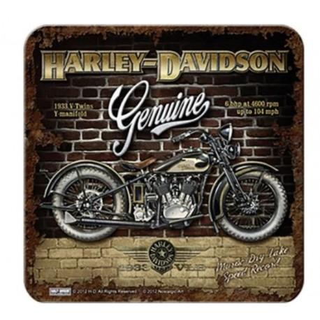 HARLEY DAVIDSON COASTERS GARAGE