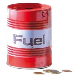 METAL MONEY-BOX FUEL