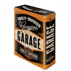 XL HARLEY DAVIDSON GARAGE METAL BOX