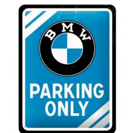 PLACA GARAJE BMW MOTOR MAINTENANCE