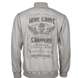 WEST COAST CHOPPERS RIDE HARD SUCKER SWEAT JACKET