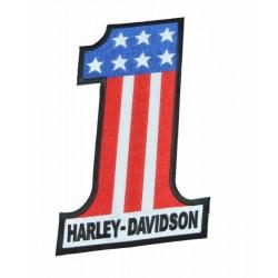 PARCHE HARLEY DAVIDSON Nº 1 USA 23.5 X 15.5 CM.