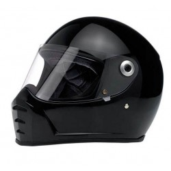 BILTWELL INTEGRAL HELMET SPLITTER BLACK BRIGHT