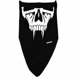 FACEMASK SABER TOOTH BLACK