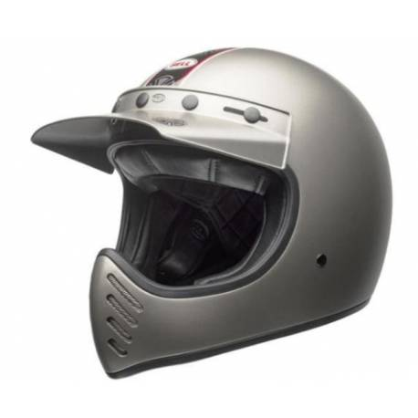 CASCO INTEGRAL MOTO 3 INDEPENDENT TITANIUM MATE