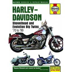 HAYNES SHOVELHEAD & EVOLUTION BIG TWINS REPAIR MANUAL 70-99