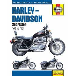 HAYNES HARLEY DAVIDSON SPORTSTER REPAIR MANUAL 70-13
