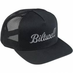 BLACK BILTWELL SCRIPT HAT