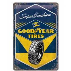 PLACA GARAJE GOODYEAR TIRES