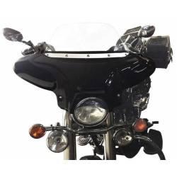 ABS FAIRING BLACK BRIGHT SUZUKI C800 - VOLUSIA