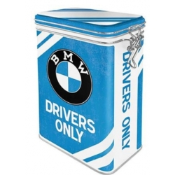 BMW DRIVERS ONLY AROMA METAL BOX