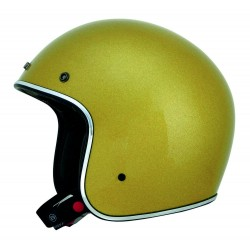 AFX FX-76 GOLD METAL FLAKE HELMET JET (OUTLET)