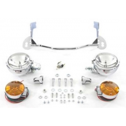 KIT HEADLIGHTS FLHR ROAD KING HARLEY DAVIDSON 94-UP