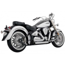 ESCAPE YAMAHA ROAD STAR VANCE & HINES SHORTSHORTS 99-07