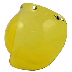 SCREEN BUBBLE HELMET JET YELLOW BANDIT