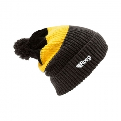 ROEG AVERELL BEANIES BLACK / YELLOW CAP/ANTHRACITE