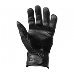 LEATHER GLOVE ROEG BAXTER BLACK
