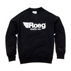 ROEG SHAWN BLACK SWEATER