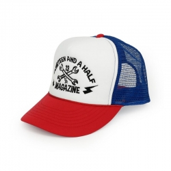 CAP 13-1 / 2 RED / BLUE / WHITE