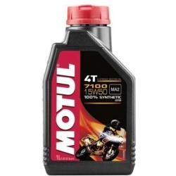 ENGINE OIL MOTUL 7100 SINTETICO 1 LITRO SAE 15W-50