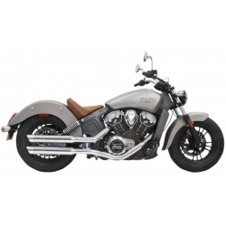 """CHAINS OF CHROME EXHAUST 3 """"INDIAN SCOUT 15-18"""