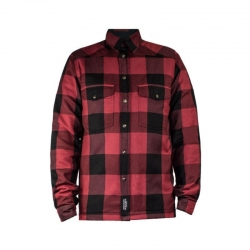 JOHN DOE MOTOSHIRT SHIRT RED AND BLACK KEVLAR