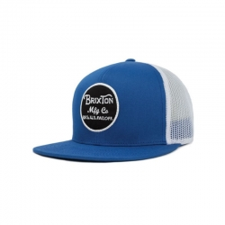 BRIXTON WHEELER CAP BLUE / WHITE