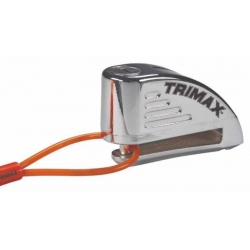 LOCK CHROME DISC WITH ALARM TRIMAX