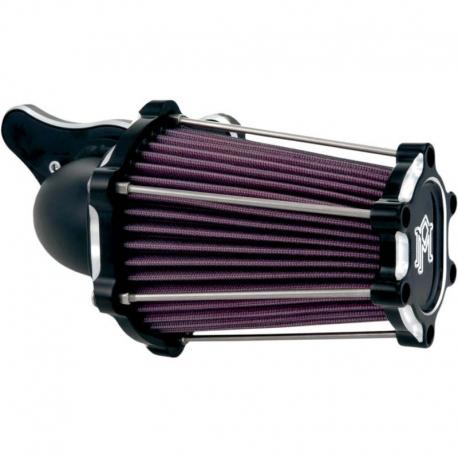 FILTRO DE AIRE PERFORMANCE MACHINE FAST AIR CONTRAST CUT HARLEY DAVIDSON XL 91-18