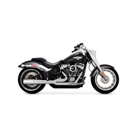 EXHAUST PIPE VANCE & HINES PRO 2-1 CHROME SOFTAIL HARLEY DAVIDSON 2018-UP (various models)