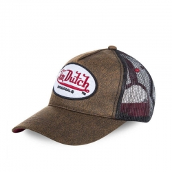 GORRA VON DUTCH OG TRUCKER MARRON Y NEGRA