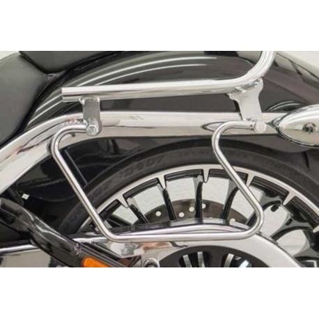 SUPPORTS SADDLES CHROME HARLEY DAVIDSON BREAKOUT 13-17