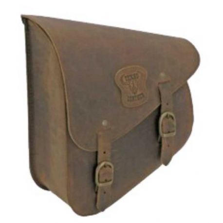 SADDLEBAG ROCKER RANGER BROWN HARLEY DAVIDSON SOFTAIL 84-17