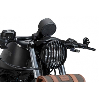 HEADLIGHT PROTECTOR BLACK HARLEY DAVIDSON SPORTSTER XL 04-UP
