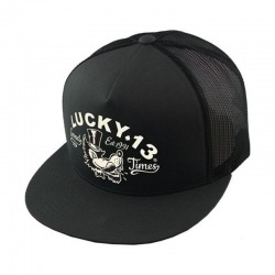 CAP TRUCKER LUCKY 13 MR. WOLF